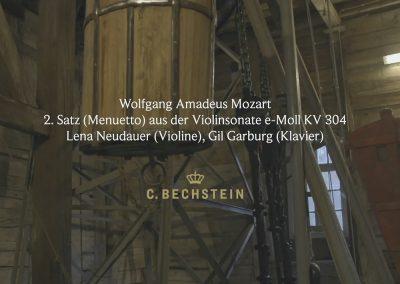 Wolfgang Amadeus Mozart: 2. Satz (Menuetto) aus der Violinsonate e-Moll KV 304 Grube Samson
