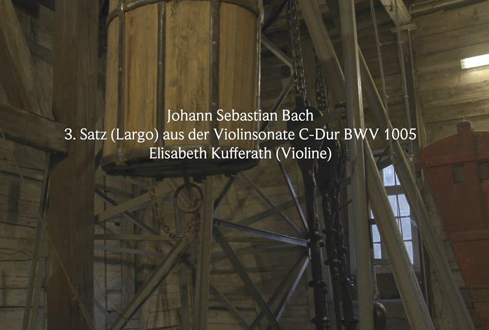 Johann Sebastian Bach: 3. Satz (Largo) aus der Violinsonate C-Dur BWV 1005 Grube Samson