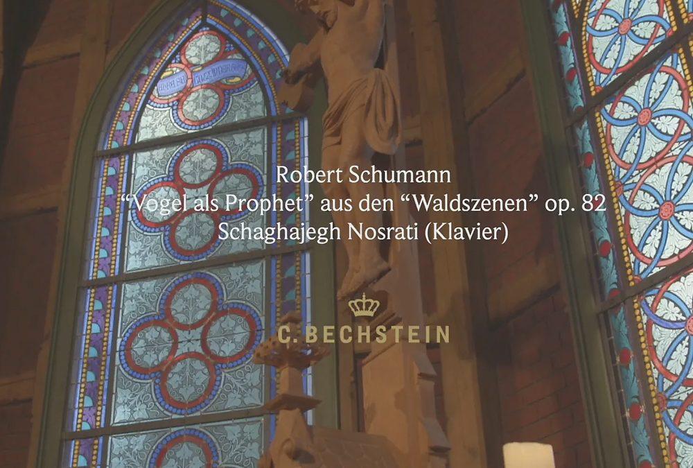 """Schumann: """"Vogel als Prophet"""" aus den """"Waldszenen"""" op. 82 Kirche"""