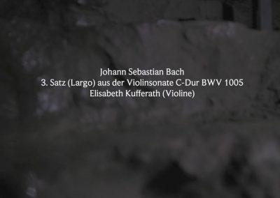 Johann Sebastian Bach: 3. Satz (Largo) aus der Violinsonate C-Dur BWV 1005 Iberg