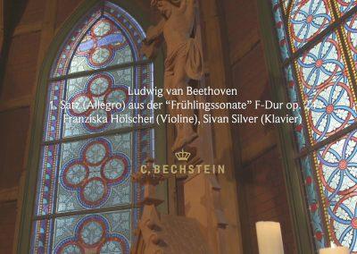 "Ludwig van Beethoven: 1. Satz (Allegro) aus der ""Frühlingssonate"" F-Dur op. 24 Trinitatiskirche"