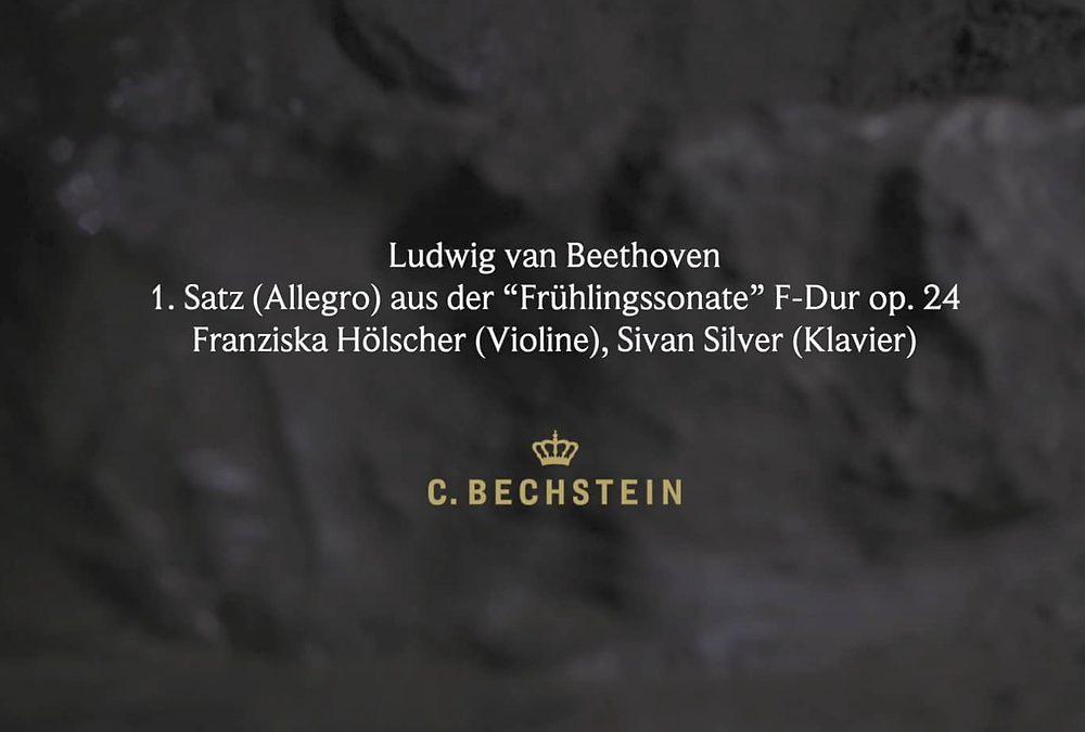 "Ludwig van Beethoven: 1. Satz (Allegro) aus der ""Frühlingssonate"" F-Dur op. 24 Iberg"