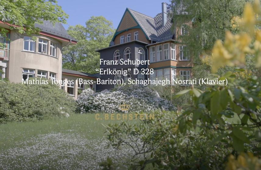 "Franz Schubert: ""Erlkönig"" D 328 Mathias Tönges (Bass-Bariton), Schaghajegh Nosrati (Klavier) Barner Sanatorium"