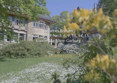 Johannes Brahms: Walzer op. 39 (Auswahl) Klavierduo Silver-Garburg Barner Sanatorium